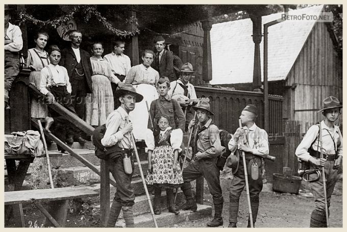 Výletníci, Čerchov