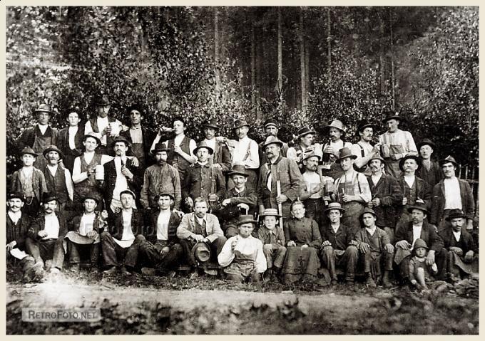 Lesní dělníci, Čerchov