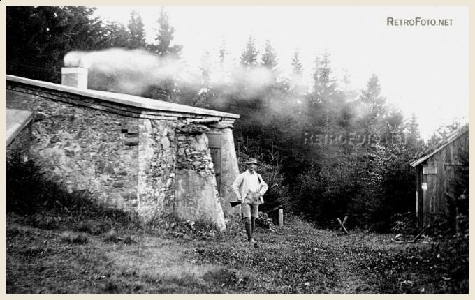 Lovecká chata, Čerchov