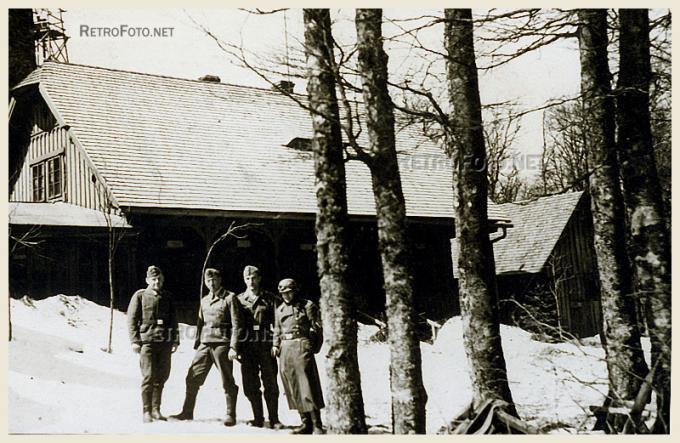 Němci, Čerchov
