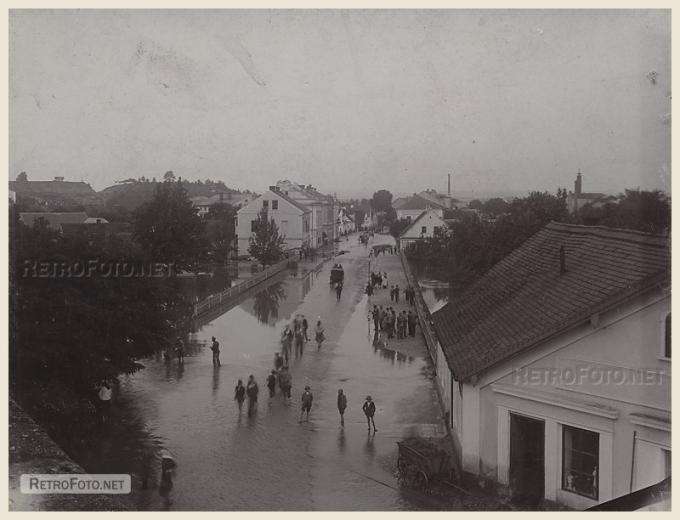 Jaroměř povodeň
