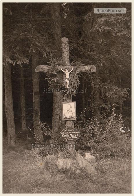 Křížek Františka Mikeše