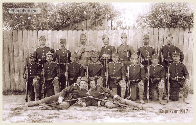 Kaposvár 1917